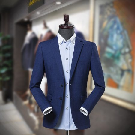 Navy Blue Men's Blazer for Summer