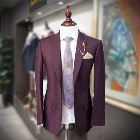 Luxury 2 Piece Skin Suit with Polyester Mix Fabric