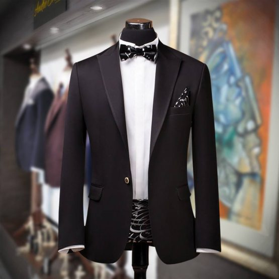 Buy Customize Dark Magneta Tuxedo