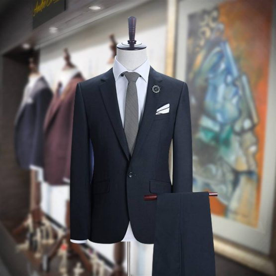 Customize Grey 2 Piece Suit for Men