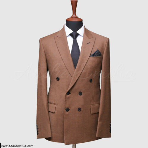 Tawny Double Breast Suit