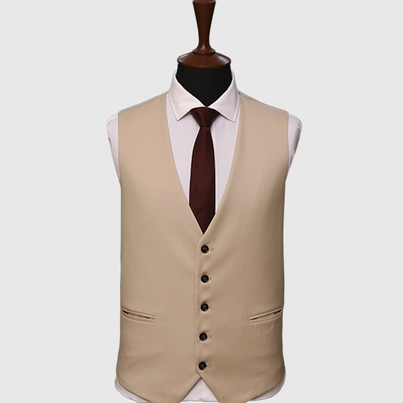 Premium Fine Cream 3 Piece Suit
